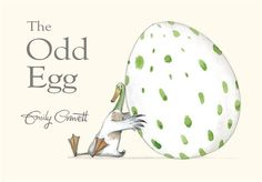 The Odd Egg (Hardcover). The Odd Egg by Emily Gravett is a beautifully illustrated tale with a surprise ending bound to ruffle some feathers! Good Books, My Books, Book People, Social Thinking, Children's Picture Books, Book Authors, Fun Learning, Early Learning, Childrens Books