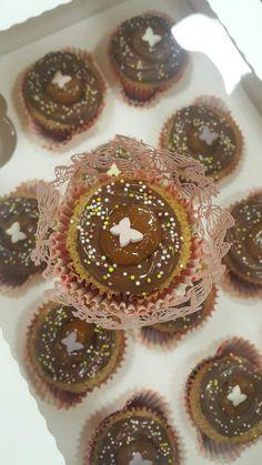 Caramel micchiato cupcake
