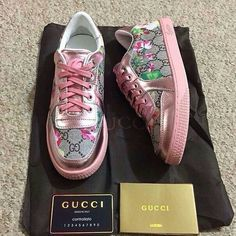 fashion, pink and shoes image on We Heart It