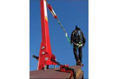 SpiderLine is a temporary horizontal lifeline system for fall protection when working on bridges, building construction, roof tops and other elevated surfaces.