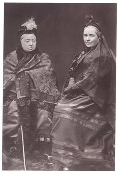 Queen Victoria with daughter, Victoria