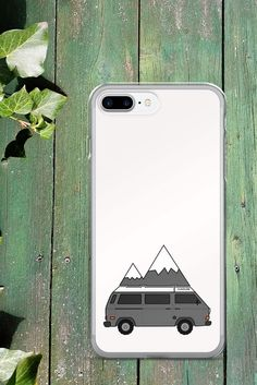 Adventure Mobile Van Life iPhone Cases. #vanlife #iphone #phonecase #camper #hiking #roadtrip
