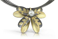 Dragon Flower pendant ~ C. H. Mackellar