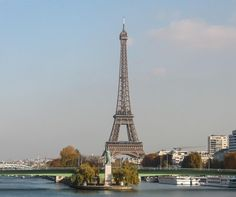 Why Paris: Eiffel Tower with other Monuments by Carolyn Chase