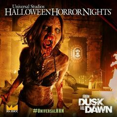It's Official! The 2nd Maze for Universal's Halloween Horror Nights 2014 is.... From Dusk Till Dawn.