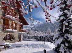 Verbier (Canton du Valais) - Les Elfes Chalet Verbier clad in winter beauty !
