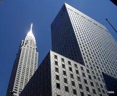 Skyscraper, Multi Story Building, New York, Skyscrapers, New York City, Nyc