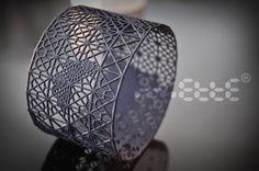 Bracelet   Miette Designs. 3d printed nylon