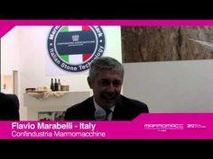 Marmomacc 2012: Flavio Marabelli interview (Confindustria Marmomacchine, Italy)