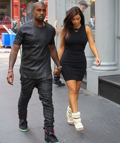 Love Yezzy's outfit in this pic.