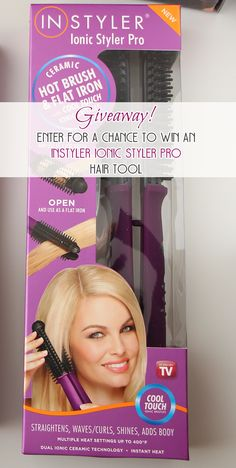 Giveaway: Enter for a chance to win an InStyler Ionic Styler Pro Hair Tool! Ends 3/18/2015