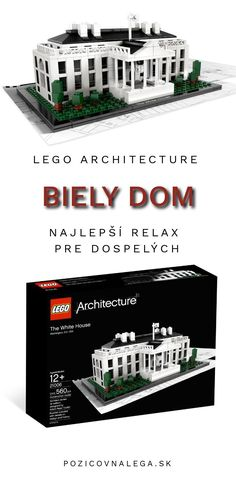 Oddýchnite si s nami! Lego Architecture, Big Ben, New York City, Relax, Mansions, House Styles, Home Decor, Decoration Home, New York