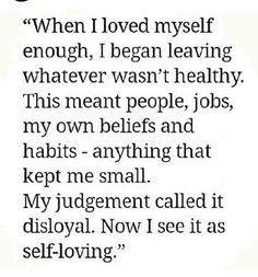 #love yourself.. leave what is toxic to your life.. :)