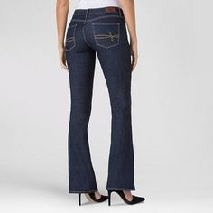 Denizen from Levi's Women's Modern Boot Cut Jeans Limo 10 Short