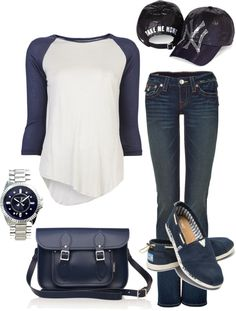 """""""Game Day"""" by honeybee20 on Polyvore"""