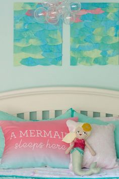 Mermaid And Whale Room Shared Sibling Bedroom S Baby