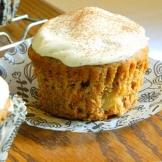 Sugar Free Carrot Minicakes by EatHealthy