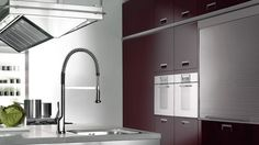 Axor Starck X kitchen faucet.  #kitchen #design