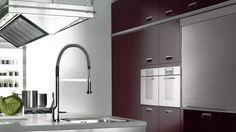 Axor Starck X kitchen faucet.  #kitchen #design