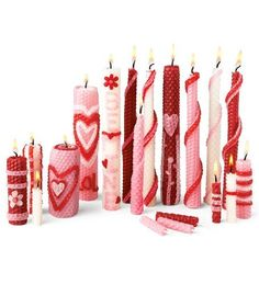 Valentine Homemade Beeswax Candle Rolling Kit HearthSong®