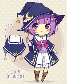 [CLOSED] ADOPTABLE | Little Wizard by ocono