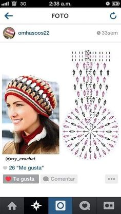 Mode Crochet, Crochet Cap, Diy Crochet, Crochet Doilies, Crochet Kids Hats, Crochet Clothes, Knitted Hats, Crochet Hooded Scarf, Crochet Beanie