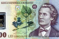 Bancnota 500 Eminescu Baseball Cards