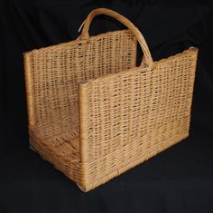 Vintage French Log or Wood Basket For Sale at www.theoriginalfrenchfurniturecompany.com
