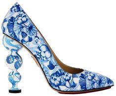 Shoes azulejo portugues