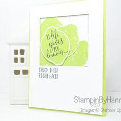 Lemon Zest -Stampin' Up! Summer Jam, Cute Fruit, Circle Punch, Lemon Lime, Stamping Up, Cool Cards, Card Making, Paper Crafts, Card Ideas