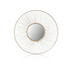 Produktinformationen 60%Metall, 30%Glas, 10%MDF Home Appliances, Inspiration, Mirror, Design, Home Decor, Furniture, Products, Decorating Ideas, Clock