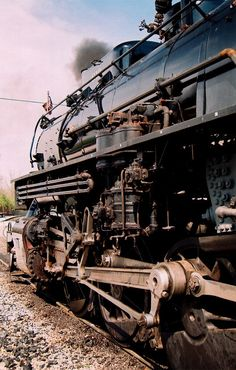 steam engine - - I got to ride in one of these engines in Chester upper end.  My friends grandpa was the engineer.  We were covered with fine oil spray.  But loved it!!!