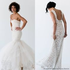 Our top 2 editor's picks from Mignonette Bridal & Alyssa Kristin Bridal 2014 #Wedding Dresses #weddingdresses #weddings        More at http://weddinginspirasi.com/2014/03/07/mignonette-bridal-alyssa-kristin-bridal-2014-wedding-dresses/