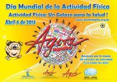 6 Abril : Día Mundial de la Actividad Física / April 6: World Day for Physical Activity