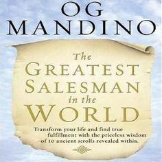 Audio Book and eBook: The Greatest Salesman In The World by OG Mandino