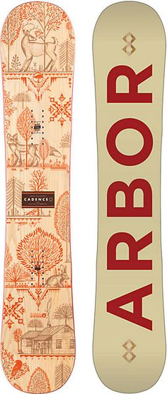 Arbor Cadence Snowboard - Women's Snowboarding - 2016 - Good Wood Award - Christy Sports