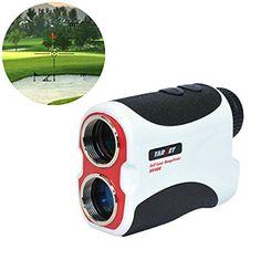 Target® 400M White Portable Golf Laser Rangefinder W/ Pin Sensor Hunting Golf…