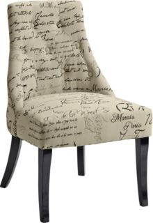 Accent Chair with slope arms