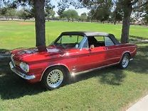 1964 CHEVROLET CORVAIR CONVERTIBLE - Front 3/4 - 138130