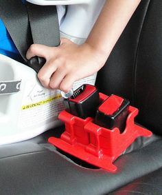 Look what I found on #zulily! Red MyBuckleMate Seat Belt Buckle Holder #zulilyfinds