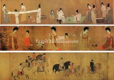 tang dynasty painting - Google Search