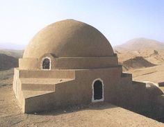 The Stoppelaere House, by Hassan Fathy, 1950, in Egypt.