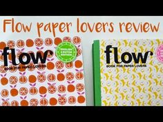 Flow magazine Book for paper lovers Review!
