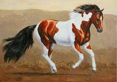 cuadros pinturas de caballos