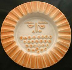 Vintage BENNINGTON Pottery Bowl Rust Sun Face RA5 | eBay Bennington Pottery, Rust Orange, Pottery Bowls, Vintage Designs, Plates, Sun, Tableware, Face, Desserts