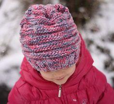 Dětská čepička Comfort Color   PLETENÍ – NÁVODY