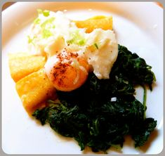 Smoked Haddock, Poached Egg & Spinach