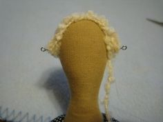 Doll Hair Making Tip        Now a detailed tutorial found on the net: