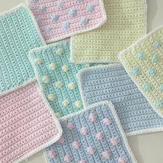 いいね!545件、コメント16件 ― inciさん(@incielg)のInstagramアカウント: 「🌸🌷🌼🌹🌾 #crochetblanket #crochet #pastel #jennysblanketofhugs @just_pootling 😊 @lanoso_club…」
