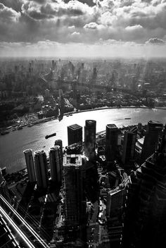 Lujiazui (Shanghai) (by Yves ANDRE)